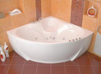 Ванна акриловая «Сабина» с гидромассажем | 160*160 ТР