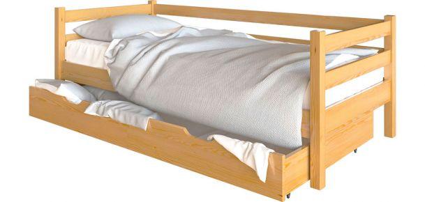 Фото Односпальная кровать «Арина» Дуб - sofino.ua