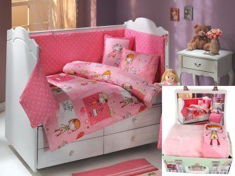 Комплект 21850 «City Girl» детский + плед | розовый