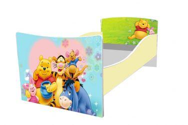 Кровать детская «Kinder-Винни пух» без ящиков 70*140