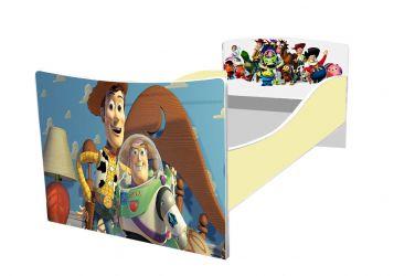 Кровать детская «Kinder-Игрушки» без ящиков 70*140