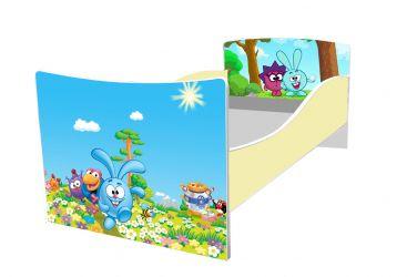 Кровать детская «Kinder-Смешарики» без ящиков 70*140