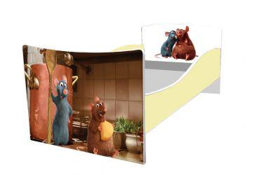 Кровать детская «Kinder-Рататуй» без ящиков 70*140