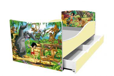 Кровать детская «Kinder-Маугли» с ящиком 70*140