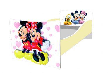 Кровать детская «Kinder-Мики и Мини» без ящиков 70*140