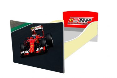 Кровать детская «Kinder-Ferrari» без ящиков 70*140