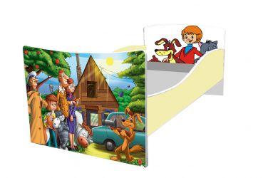 Кровать детская «Kinder-Простоквашино» без ящиков 70*140
