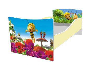 Кровать детская «Kinder-Пчелка майя» без ящиков 70*140