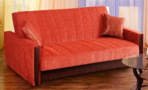 Фото Диван-кровать «Карингтон-6» с накладками - sofino.ua