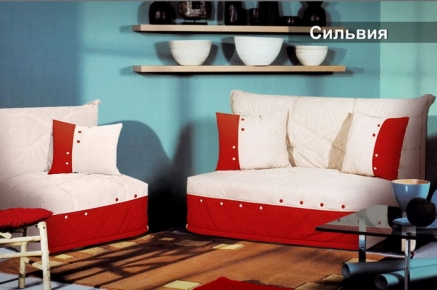 Фото Диван-кровать Мех. трансформ. Аккордеон Д/П «Сильвия» 140*194 - sofino.ua