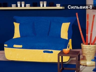 Фото Диван-кровать Мех. трансформ. Аккордеон Д/П «Сильвия-8» 140*194 - sofino.ua