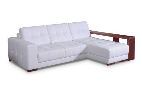Диван-кровать угловой «Мистраль» с ламин.боковин | Угол поворота Г