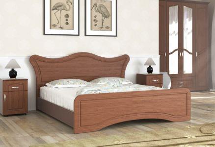 Ліжко двоспальне Пехотін МДФ Ангеліна - Колір на вибір