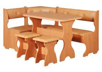 Кухонный уголок «Принц» стол нераскладной