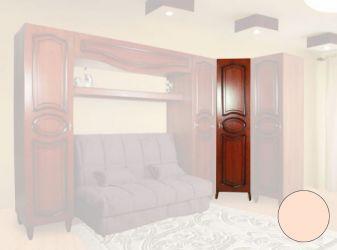 Шкаф угловой «Камелия» бежевый