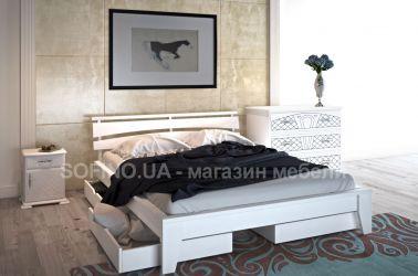 Кровать «Венеция» 140*190 | 2 ящика | белый