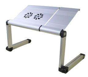 Столик трансформер для ноутбука «Gigatron Grey»