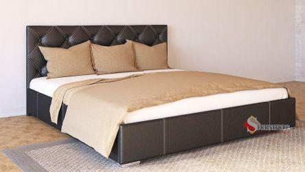 Кровать-подиум «Марта» 140*190 | Кожзам