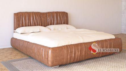 Кровать-подиум «Шарлотта» 140*190   Кожзам