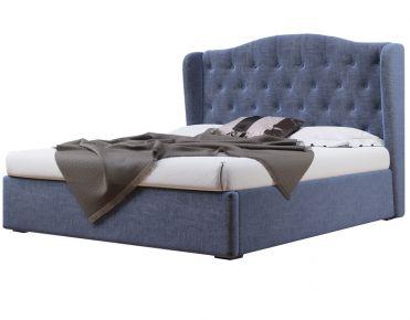 Фото Мягкая кровать-подиум «Рэтро» c подъемным механизмом - sofino.ua