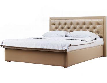 Фото Мягкая кровать-подиум «Аполлон» c подъемным механизмом - sofino.ua