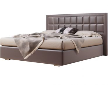 Фото Мягкая кровать-подиум «Спарта» c подъемным механизмом - sofino.ua