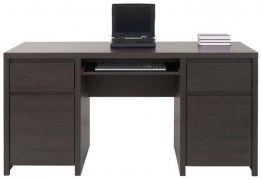 Стол письменный BIU 2D2S «Каспиан» | Венге