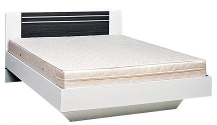 Кровать двуспальная 140*200 «Круиз» дакар   белый