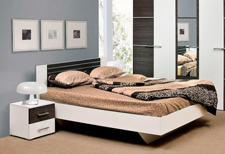 Ліжко для спальні Світ меблів Круїз ДСП Дакар