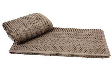 Полотенце «Chequers» 50*90 | коричневый