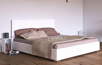 Кровать белая «Бест» 90*190 | без механизма