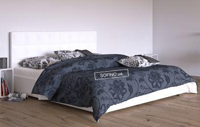 Кровать белая «Гера» 90*190 | без механизма