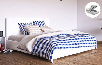 Кровать белая «Морфей» 90*190 + механизм