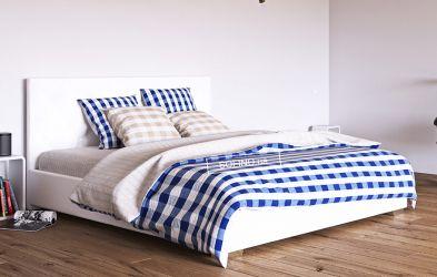 Кровать белая «Морфей» 90*190 | без механизма