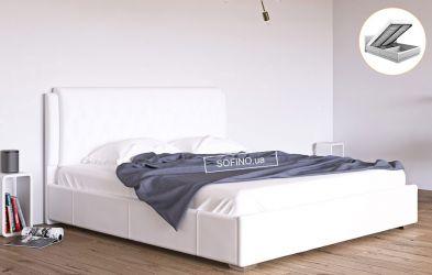 Кровать белая «Тиффани» 120*190 + механизм