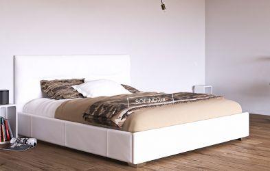 Кровать белая «Камелия» 120*190 | без механизма