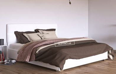 Кровать белая «Манчестер» 120*190 | без механизма