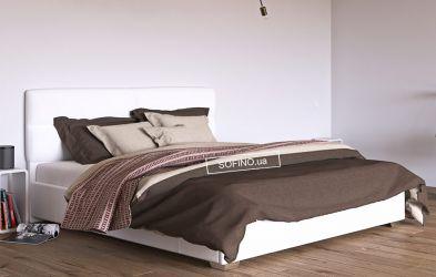 Кровать белая «Манчестер» 120*200 | без механизма