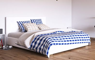 Кровать белая «Морфей» 120*200 | без механизма