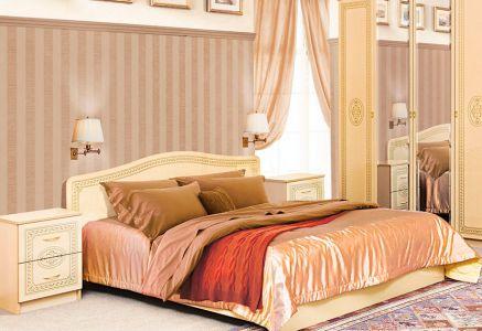 Фото Ліжко - Світ меблів - ДСП - Флоренція - 160х200 см - sofino.ua