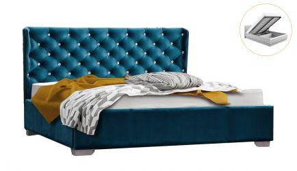 Кровать-подиум «Афина» с подъемным механизмом 160*200 | Ткань