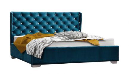 Кровать-подиум «Афина» 160*200 | Кожзам