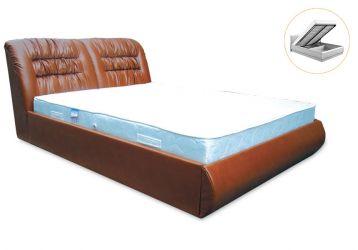 Кровать-подиум «Фараон» с механизмом и матрасом 160*200