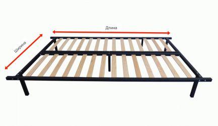 Каркас ліжка - Гербор - Метал - 120х200 см