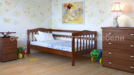 Кровать детская «Хлоя» 80*190 | черешня