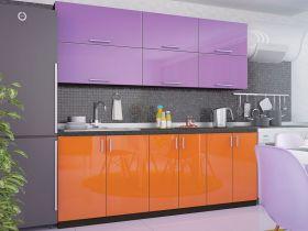 Фото Кухня прямая «Колор-микс - коллекция №294185» - sofino.ua