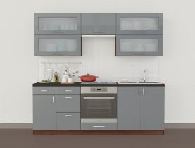 Фото Кухня прямая «Колор-микс - коллекция №294195» - sofino.ua