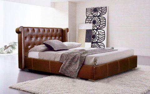 Ліжко двоспальне м'яке Новелті Глора - Колір на вибір