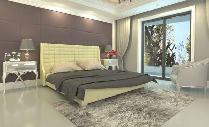 Фото Односпальная кровать «Медина» - sofino.ua