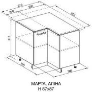 87*87 (лак) «Марта»